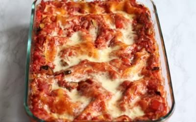 Easy Vegetable Lasagna Meal Prep