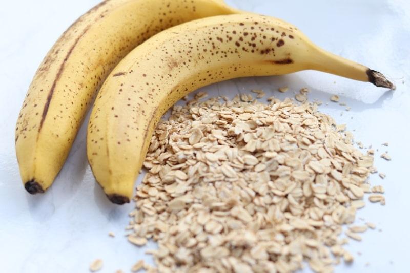 bananas and oats