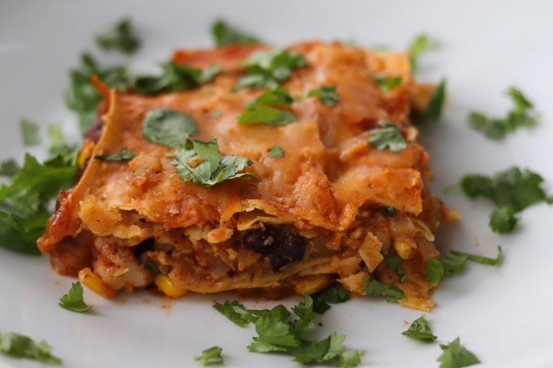 enchilada serving