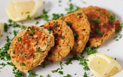 Low FODMAP Gluten-Free Tuna Cakes