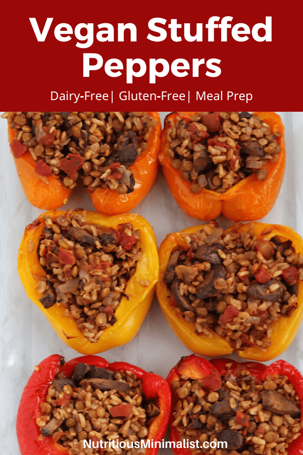 vegan stuffed peppers pin
