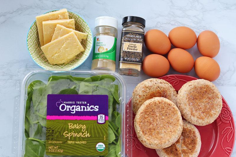 breakfast sandwich ingredients