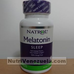 Melatonina de 3mg de Natrol