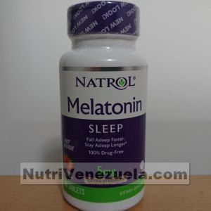 Melatonina de 5mg de Natrol
