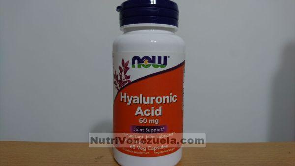Acido Hialuronico 50 mg NOW