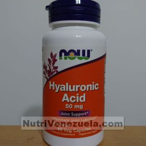 Acido Hialuronico 50 mg NOW