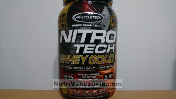 Nitro Tech Gold Venezuela Muscletech. 2.24lbs Chocolate