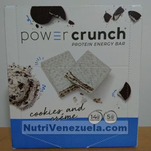 Power Crunch Barras De Proteina Venezuela