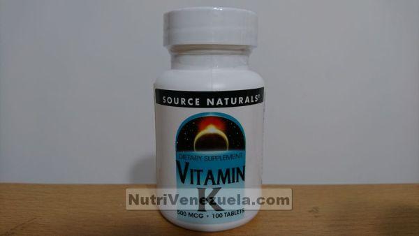 Vitamina K Venezuela