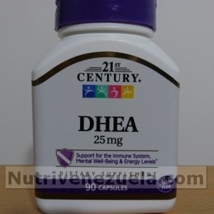 Dhea 25mg 90 capsulas