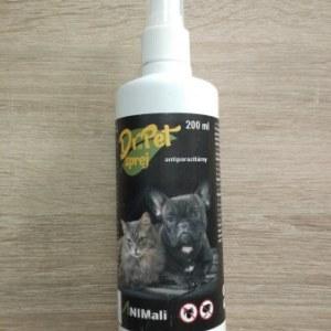 Antiparazitický sprej pre psy a mačky 200 ml