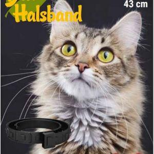 Antiparazitický obojok pre mačky 43 cm