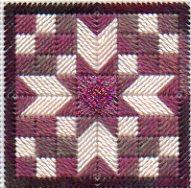 Quilt Block Needlepoint Twinchy