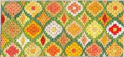 daffodil needlepoint bargello