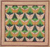 Fast Needlepoint Bargello as a Present