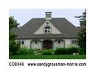 custom needlepoint house by Sandy Grossman-Morris