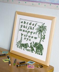 African Animal Sampler — Free Design from DMC