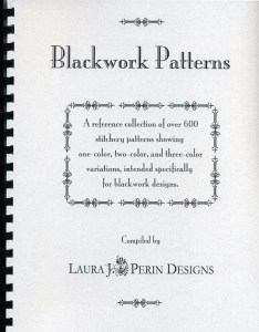 Blackwork Patterns by Laura Perin – book review
