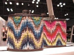 DIY Needlepoint – Adler-inspired Bargello