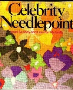 celebrity needlepoint book
