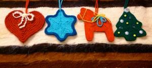 huichol yarn painting ornaments