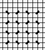 background stitch for needlepoint) diagram
