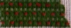 Stripey Christmas Tree – Stripe 12 – Free Needlepoint Project