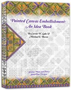 Painted Canvas Embellishment: An Idea Book – Book Review