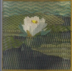 shadow stitching an Impressionist canvas