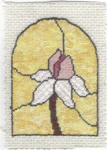 Magnolia Needlepoint Free Project – Outline & Framing
