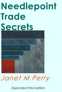 Needlepoint Trade Secrets, third edition, copyright Napa Needlepoint