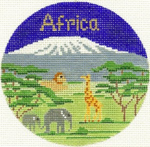 Africa from Silver Needle