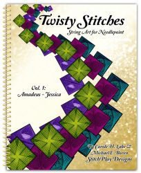Twisty Stitches Needlepoint Book Review