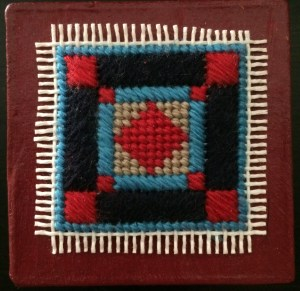 Little Amish Box – Needlepoint Gift in a Day