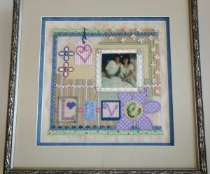 Sew Much Fun needlepoint collage