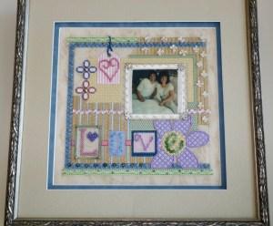 Sew Much Fun needlepoint collage