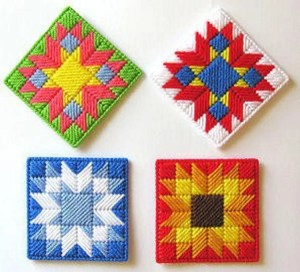 Patchwork Coasters Free Pattern