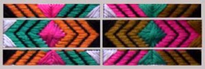 modular needlepoint design
