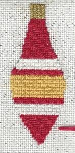 Shiny & Bright Needlepoint Ornament Club,