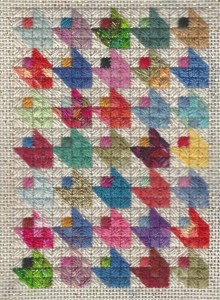 Tulip Needlepoint Quilt Free Project
