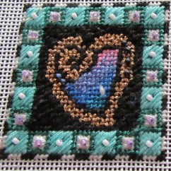 Needlepoint Stitches Stitch Diagrams Australian Home Phone Wiring Diagram Valentine Heart Mini Guide Nuts About