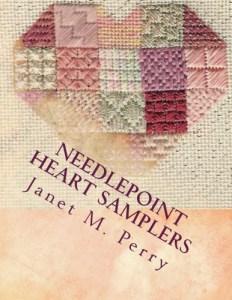 NEEDLEPOINT HEART SAMPLERS COVER