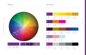 color scheme page from Designer's Dictionary of Color