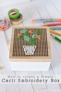 Simple Cacti Box Free Design