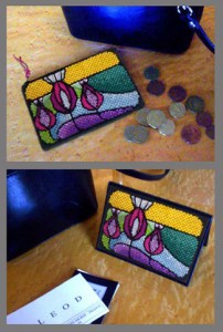 Art Nouveau coin purse