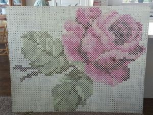 Stitching on Pegboard Step by Step