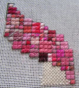 The Pink of Perfection Scrap Bag Needlepoint