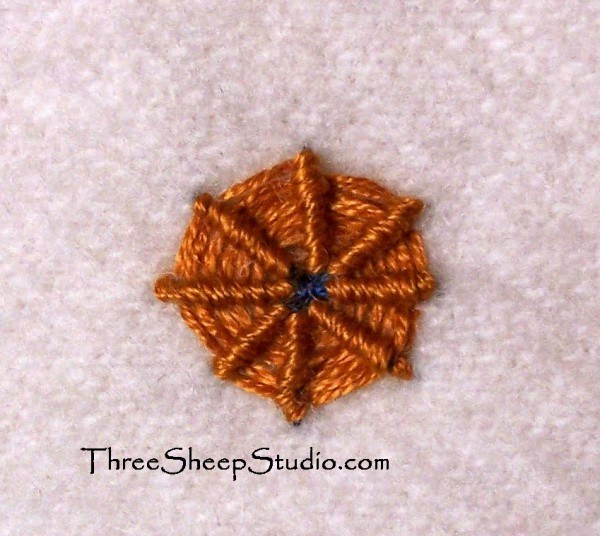 needlepoint stitches stitch diagrams subwoofer wiring 4 ohm spider web tutorial - nuts about
