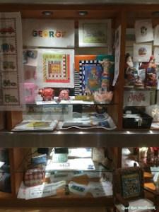 display at quail run needlework