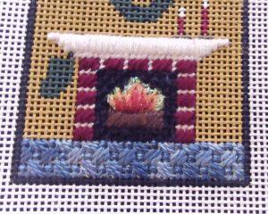 Stitching a Needlepoint Carpet